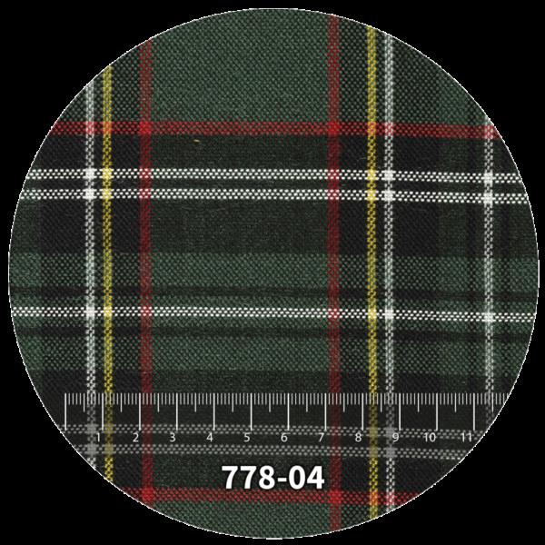 Tela escocés escolar modelo 778-04