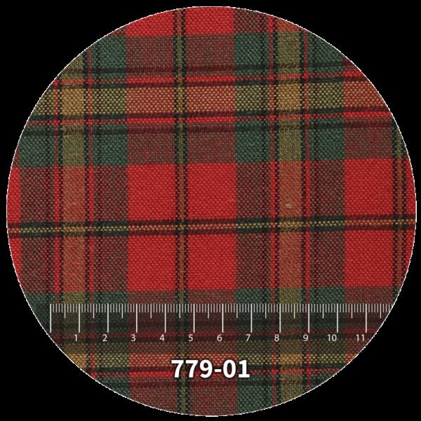 Tela escocés escolar modelo 779-01