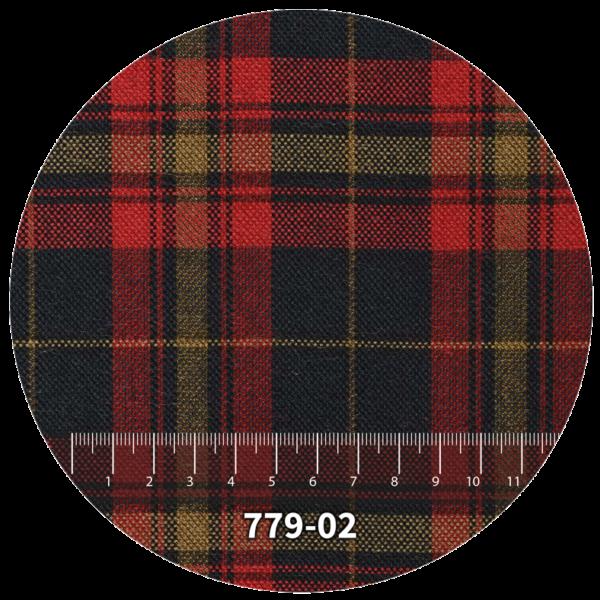 Tela escocés escolar modelo 779-02
