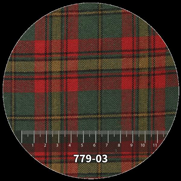 Tela escocés escolar modelo 779-03