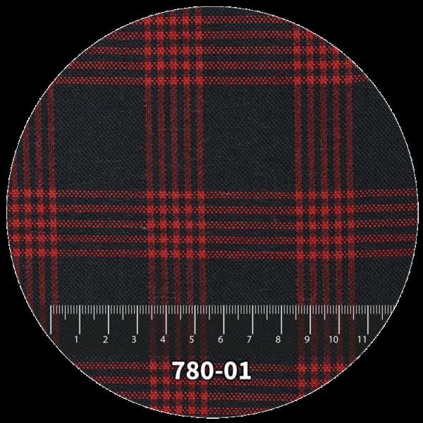 Tela escocés escolar modelo 780-01