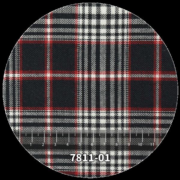 Tela escocés escolar modelo 7811-01