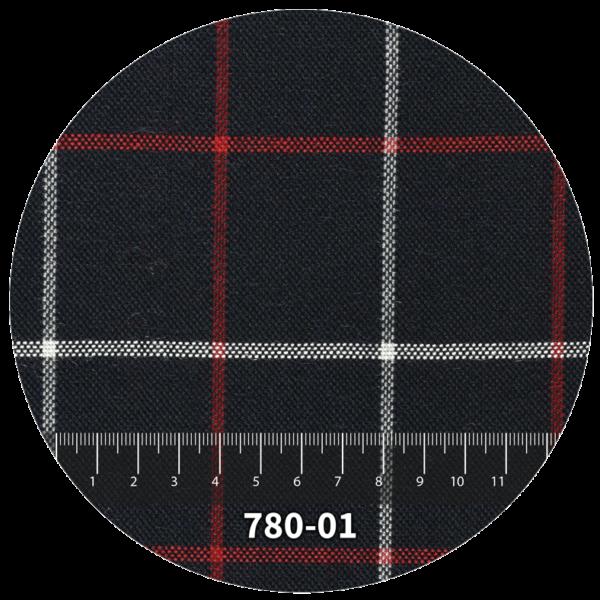Tela escocés escolar modelo 783-01