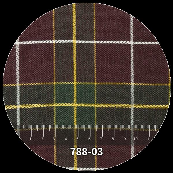 Tela escocés escolar modelo 788-03