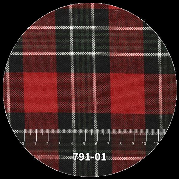 Tela escocés escolar modelo 791-01
