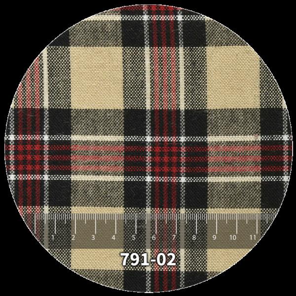 Tela escocés escolar modelo 791-02