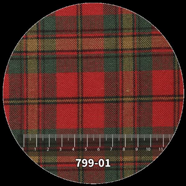 Tela escocés escolar modelo 799-01
