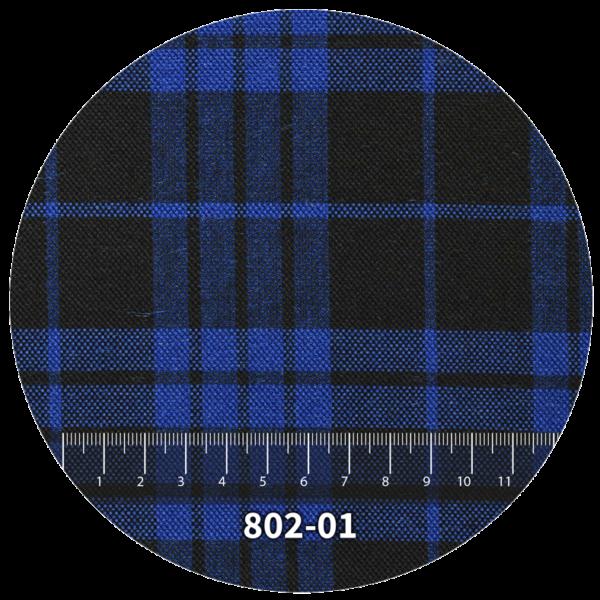 Tela escocés escolar modelo 801-01