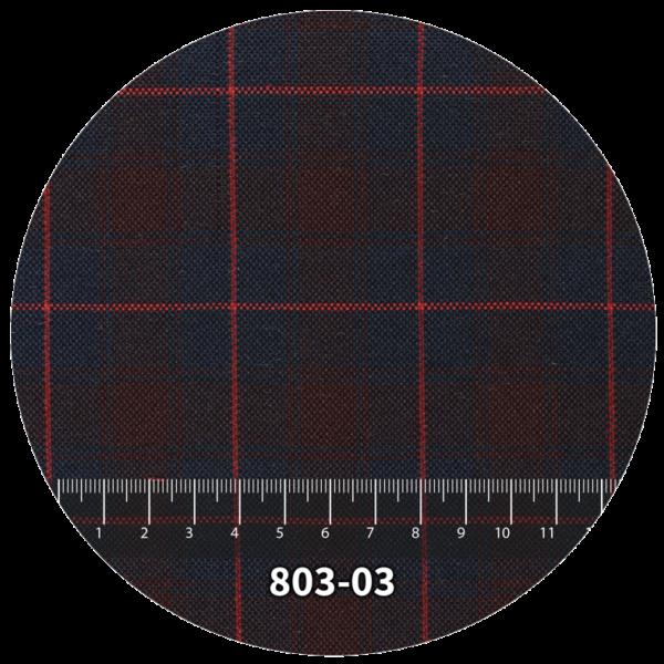 Tela escocés escolar modelo 803-03