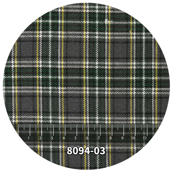 Tela escocés escolar modelo 8094-03