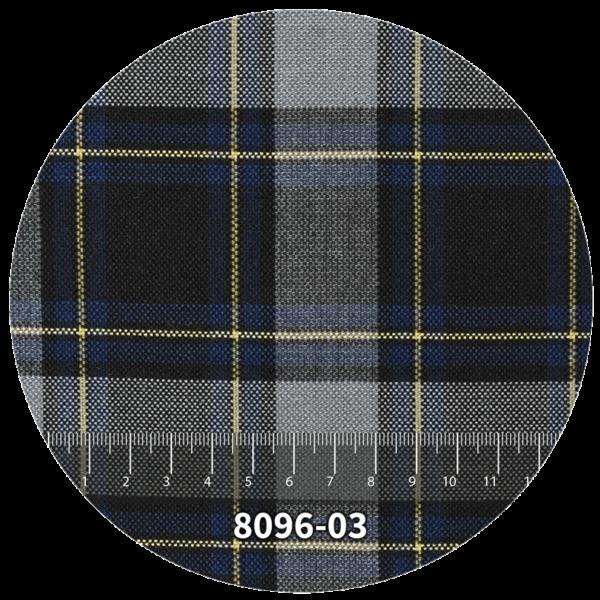 Tela escocés escolar modelo 8096-03
