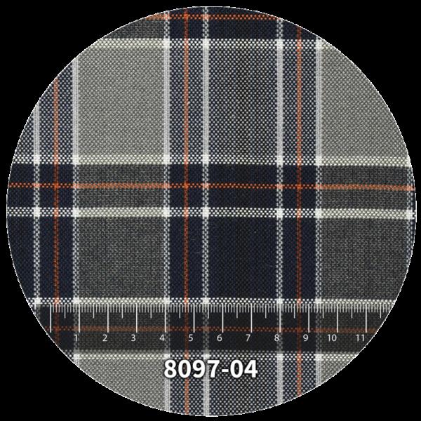 Tela escocés escolar modelo 8097-04