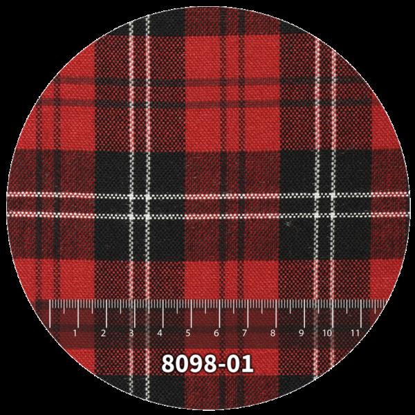 Tela escocés escolar modelo 8098-01