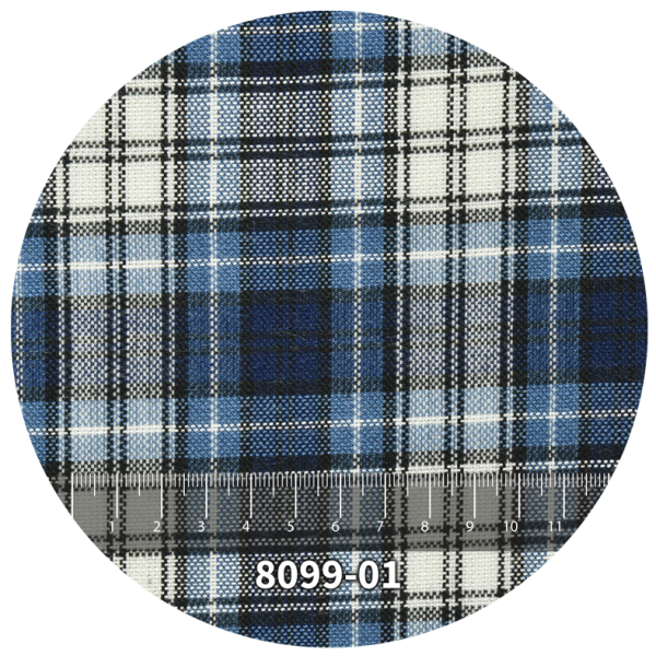 Tela escocés escolar modelo 8099-01