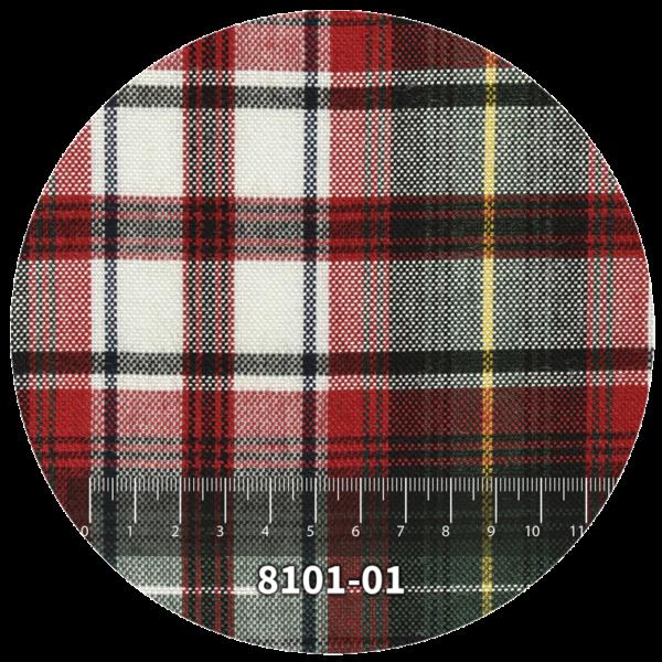 Tela escocés escolar modelo 8101-01