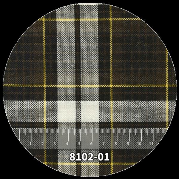 Tela escocés escolar modelo 8102-01
