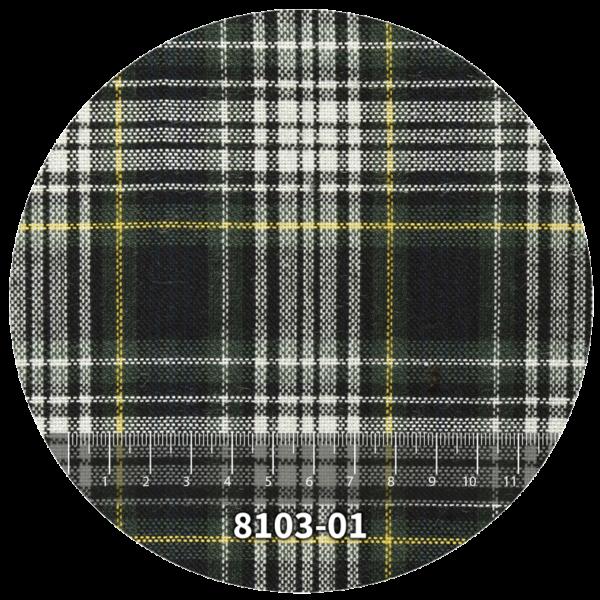 Tela escocés escolar modelo 8103-01