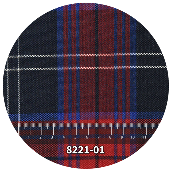 Tela escocés escolar modelo 8221-01