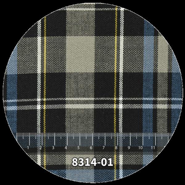 Tela escocés escolar modelo 8314-01