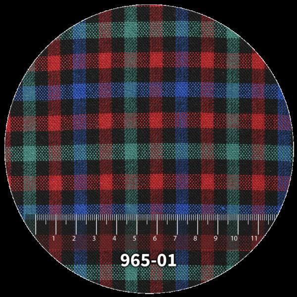 Tela escocés escolar modelo 965-01