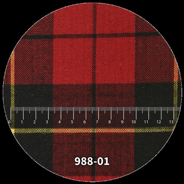 Tela escocés escolar modelo 988-01